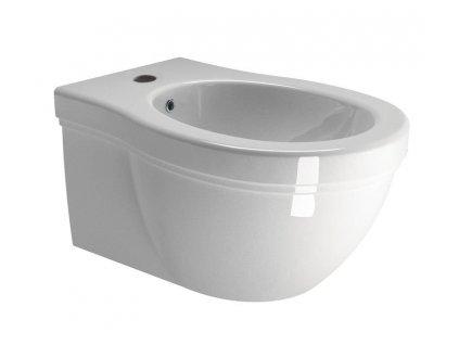 CLASSIC bidet závěsný, 37x55 cm, bílá ExtraGlaze