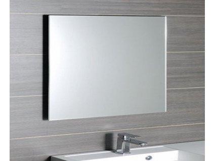 ACCORD zrcadlo s fazetou 1200x800mm, zakulacené rohy, bez úchytu