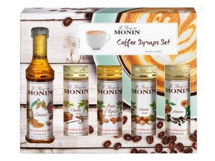 COFFEE syrups set 5cl face HD
