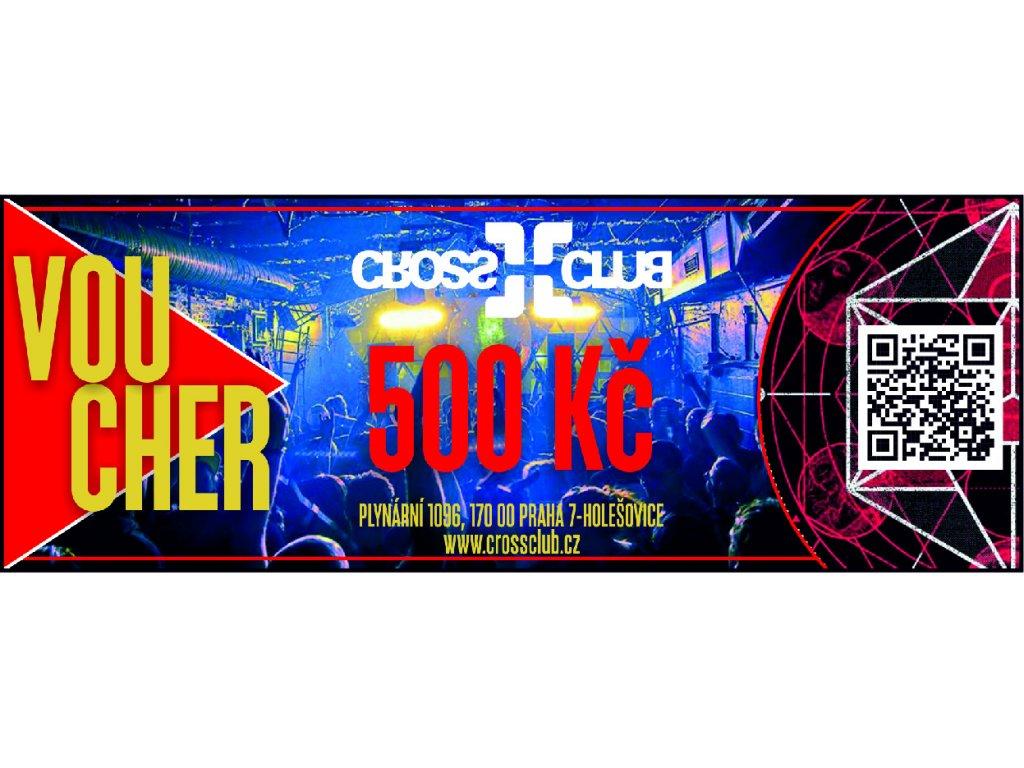 voucher e shop 500 kč