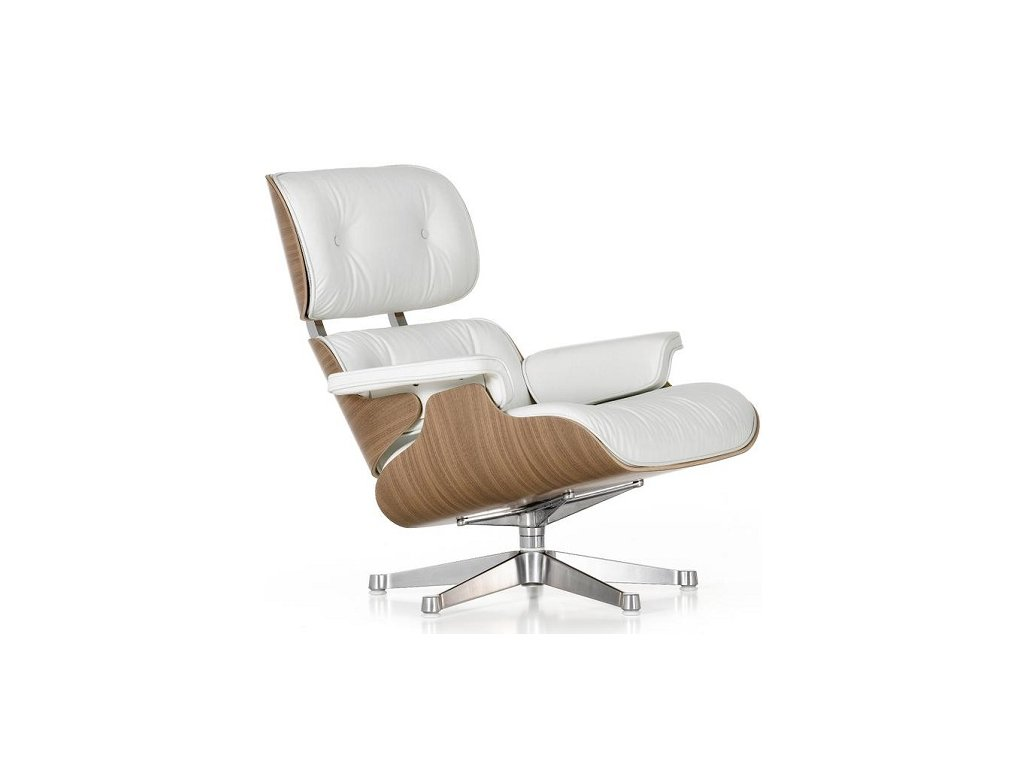 lounge chair white pigmented walnut 2