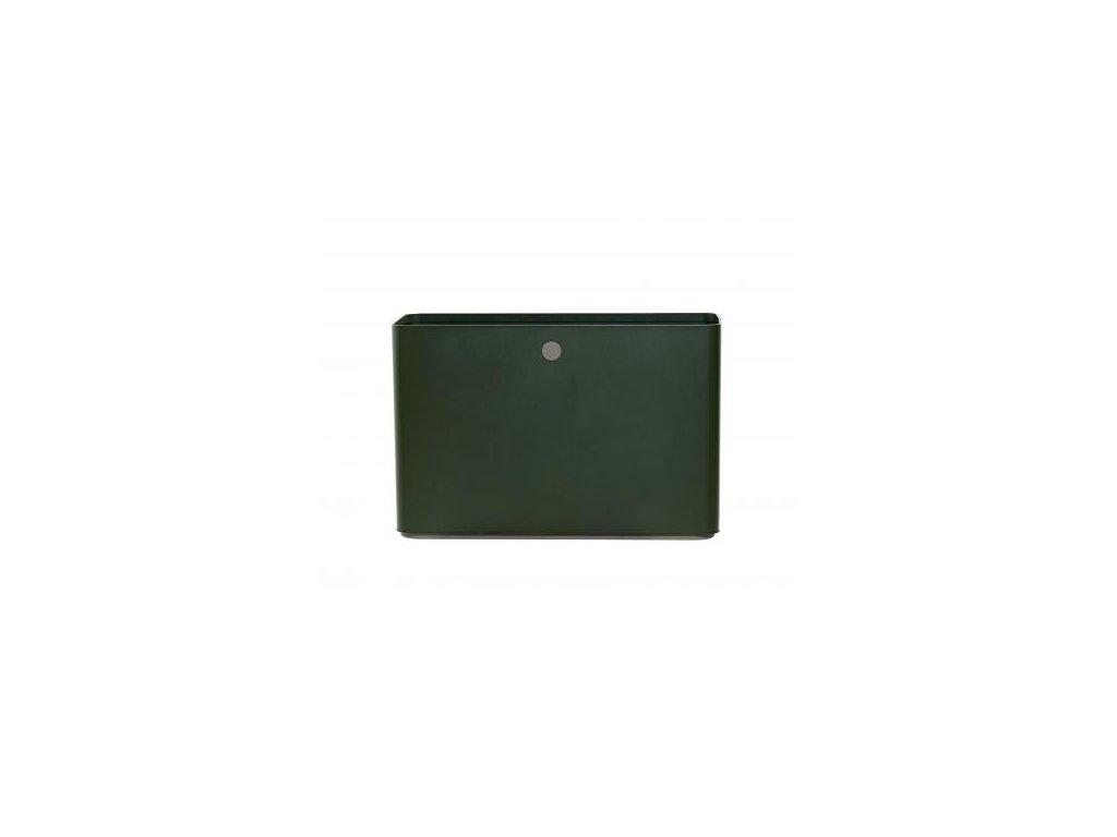 Cane-line Květináč Grow 90x30 cm - tmavě zelená/taupe