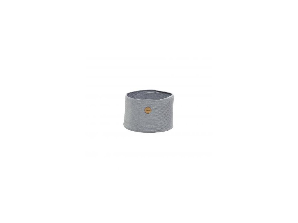 Cane-line Košík Soft Rope Ø 40 cm - světle šedá