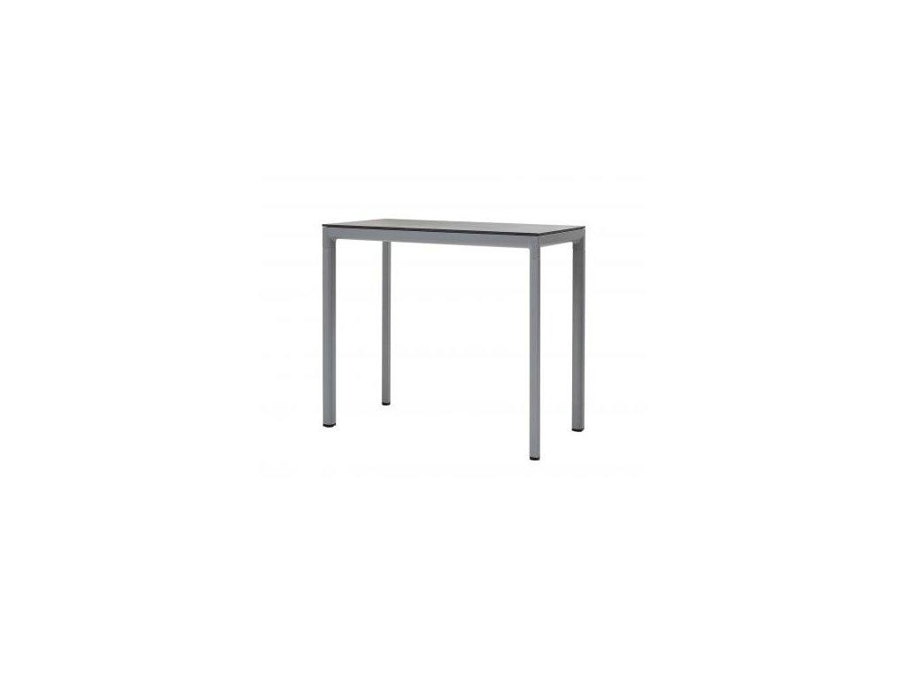 Cane-line Barový stůl Drop - světle šedá, černá