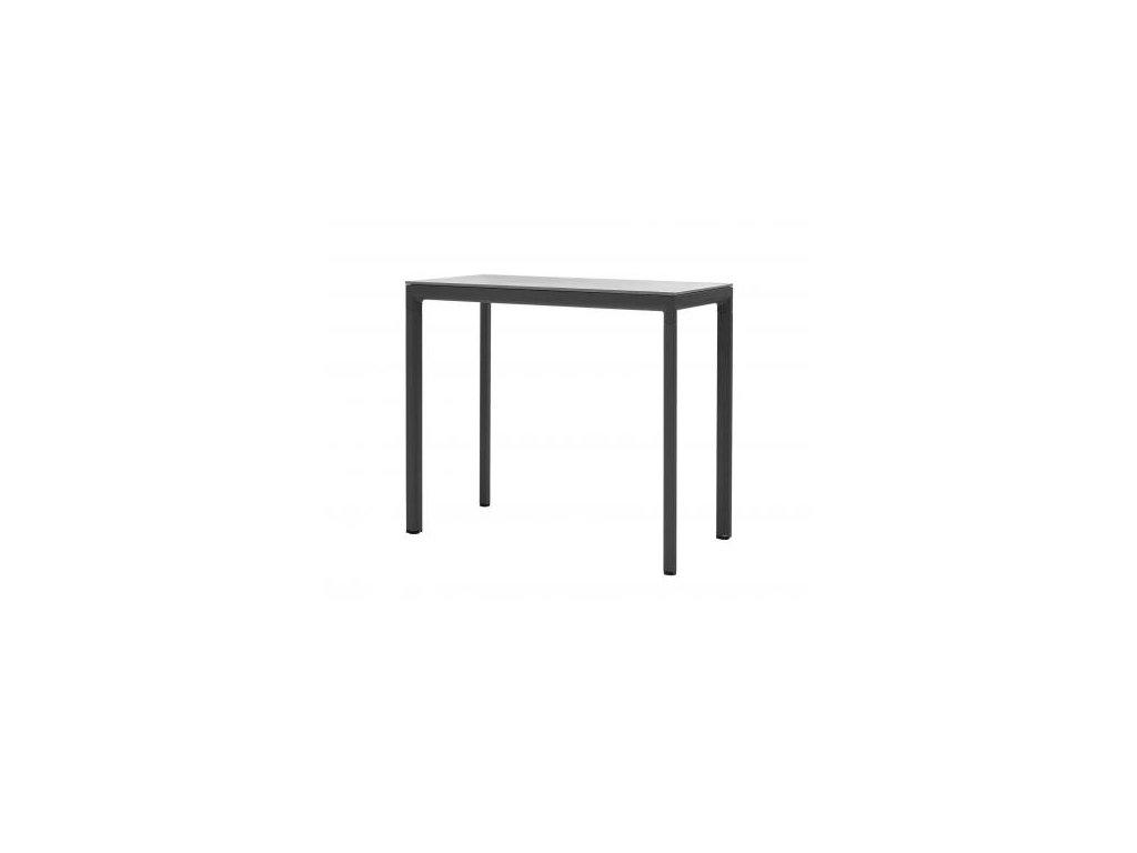 Cane-line Barový stůl Drop - lávově šedá, šedá