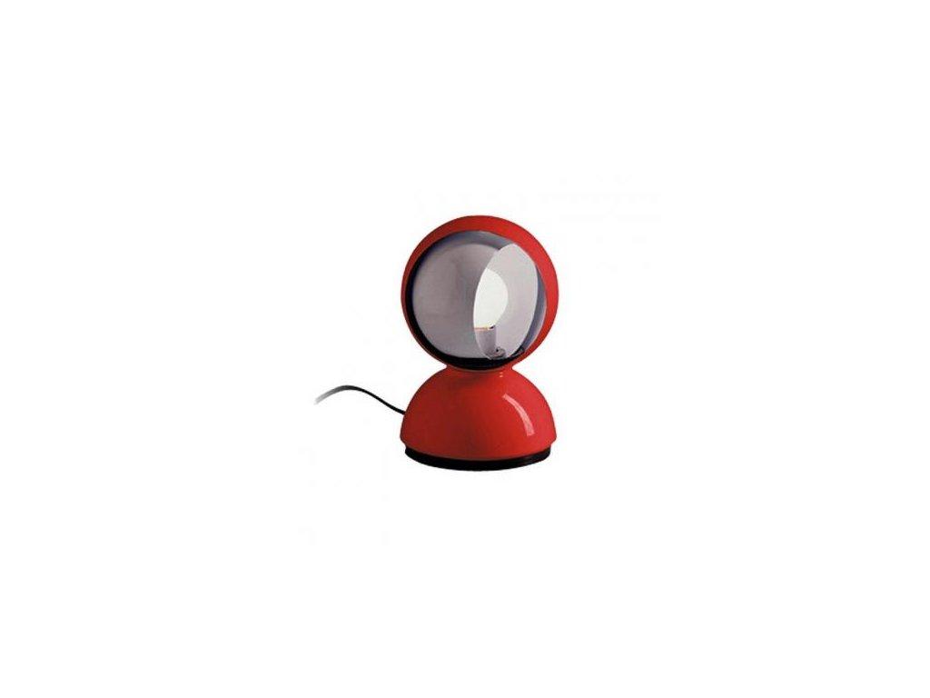 Artemide Lampička Eclisse - červená