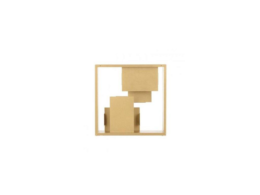 Artemide Stolní/nástěnná lampička Fato - zlatá