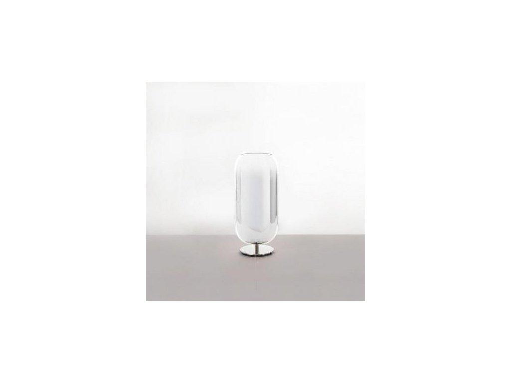 Artemide Lampička Gople Ø 21 cm - stříbrná