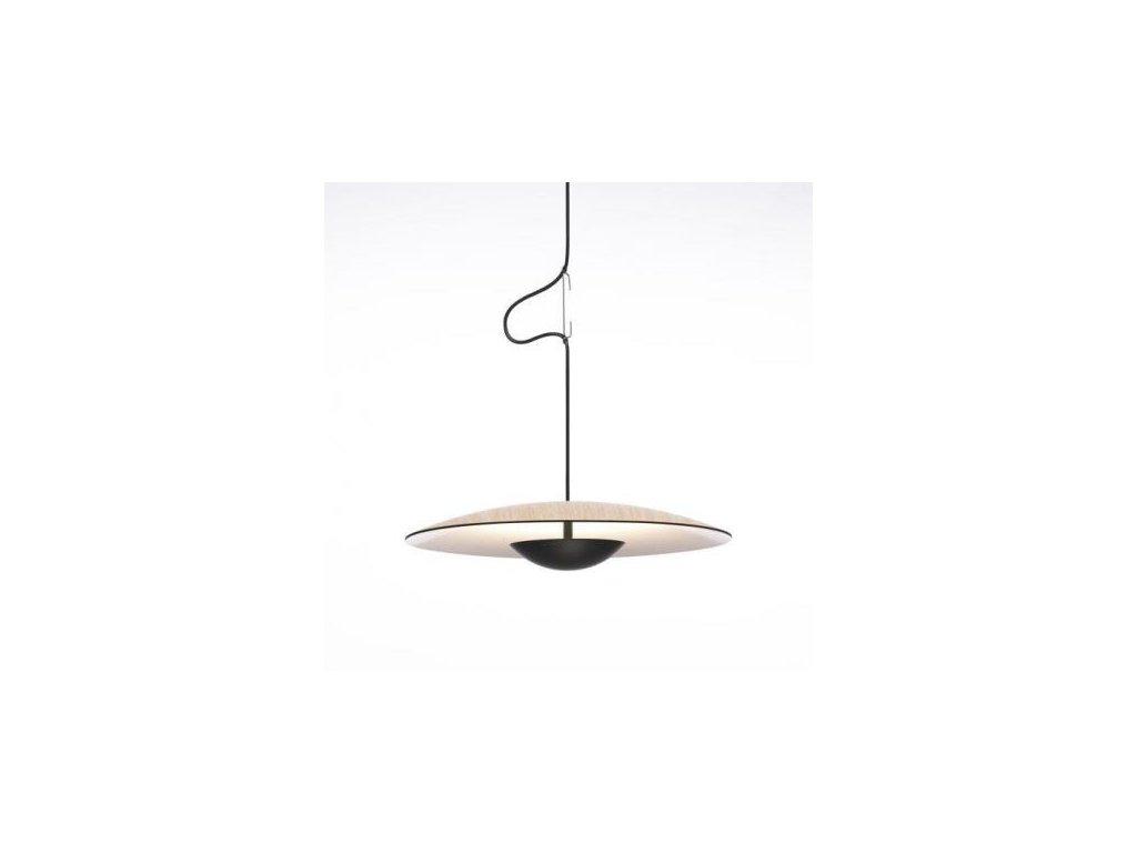 Marset Závěsná lampa Ginger Ø 19,5 cm - lisované dřevo