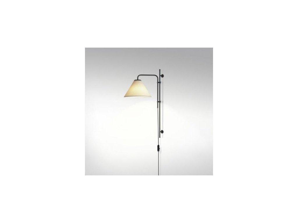 Marset Nástěnná lampa Funiculí Fabric - bílá