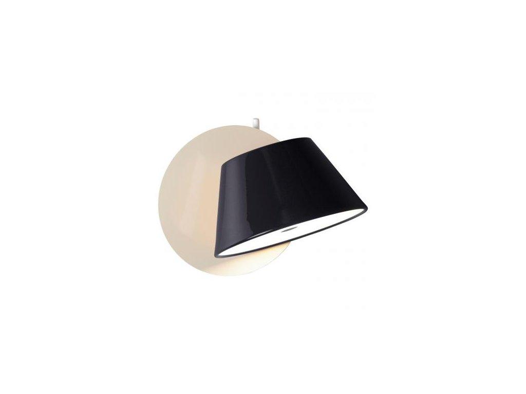 Marset Nástěnná lampa Tam Tam - černá / bílá