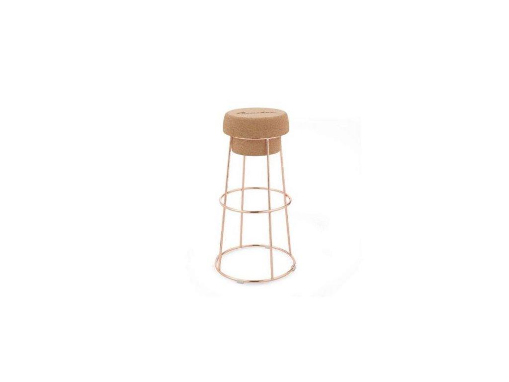 Domitalia Korková barová stolička Bouchon SA