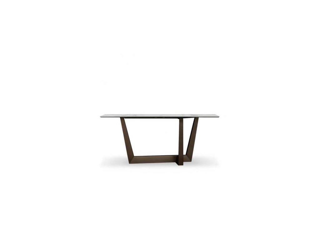 Bonaldo Konzolový stolek Art s keramickou deskou