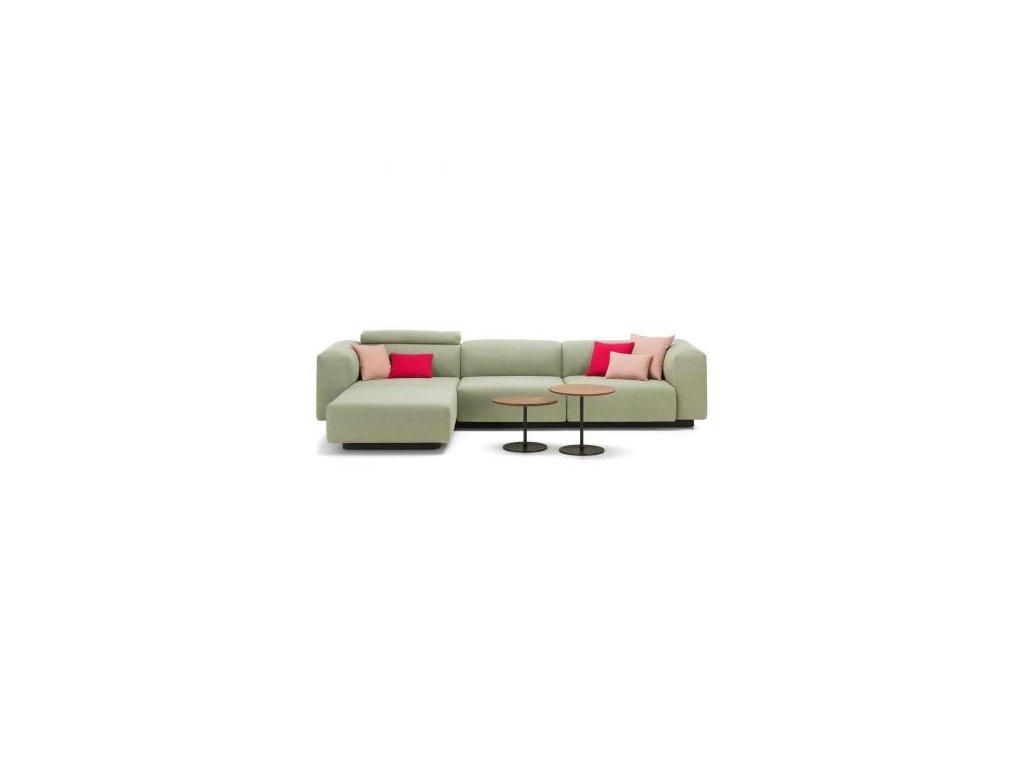 Vitra Pohovka s lenoškou Soft Modular Sofa