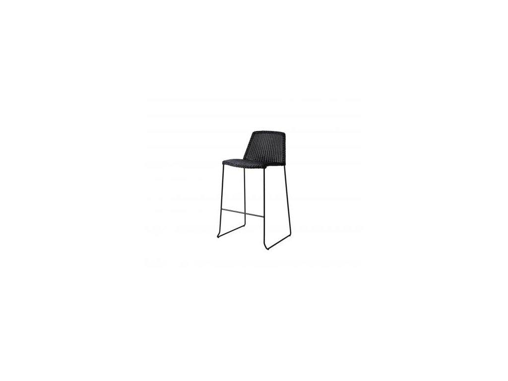 Cane-line Barová stolička Breeze - černá