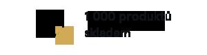 1000 produktů skladem