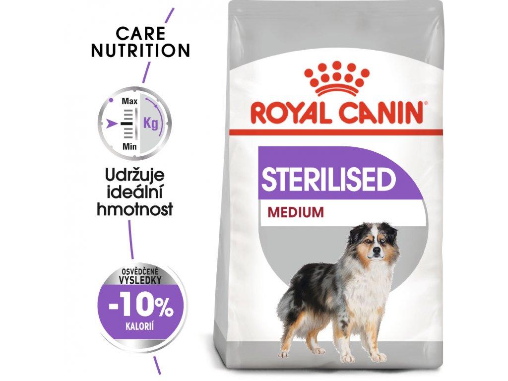 1 medium sterilised