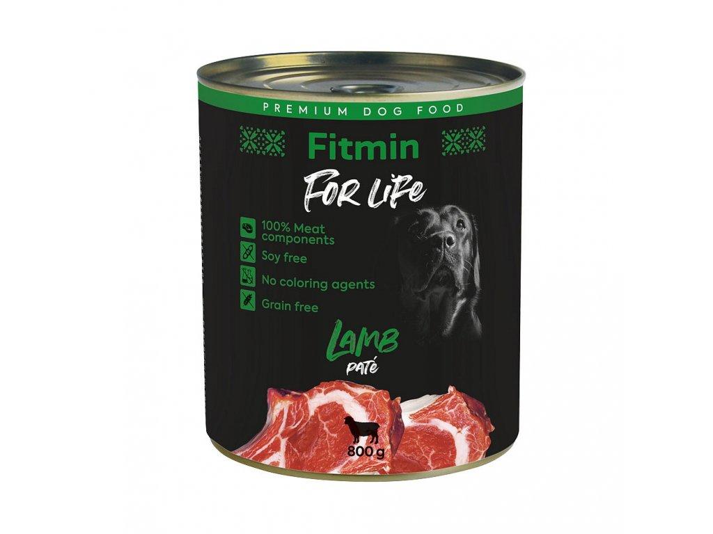 ffl dog tin lamb 800g h L