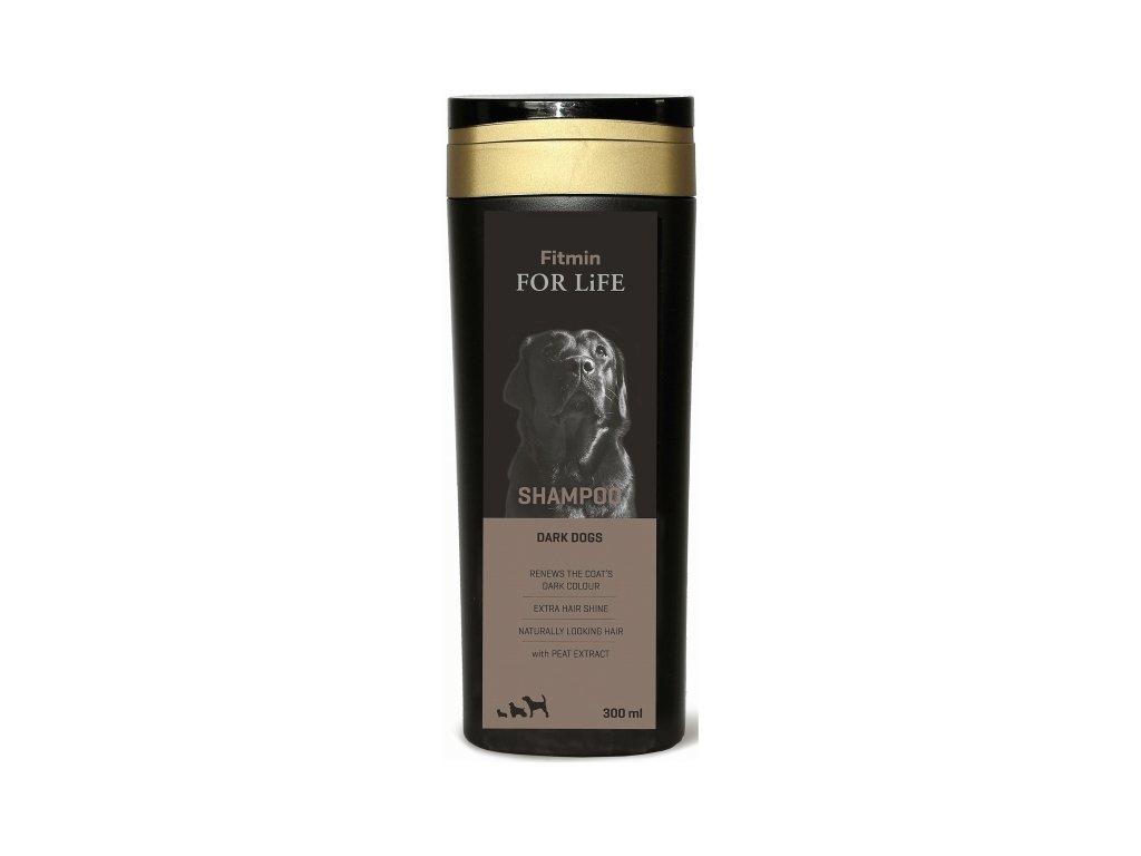 Šampon pro psy Fitmin For Life Dark Dogs 300 ml (exp. 26.9.2020)