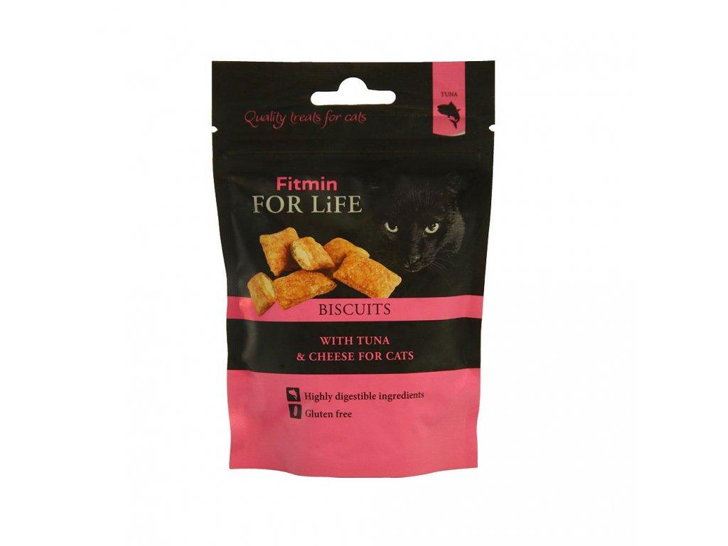 ffl cat biscuits with tuna cheese 50g h L
