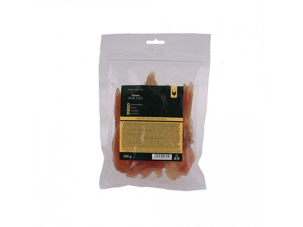 ffl dog treat chicken breast 200g h L