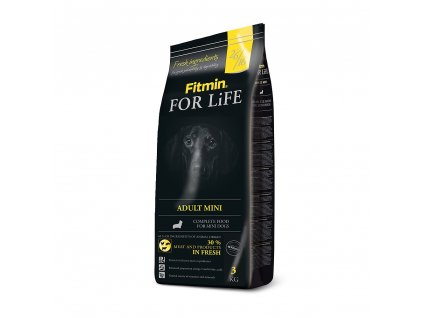 fitmin dog for life adult mini 3 kg