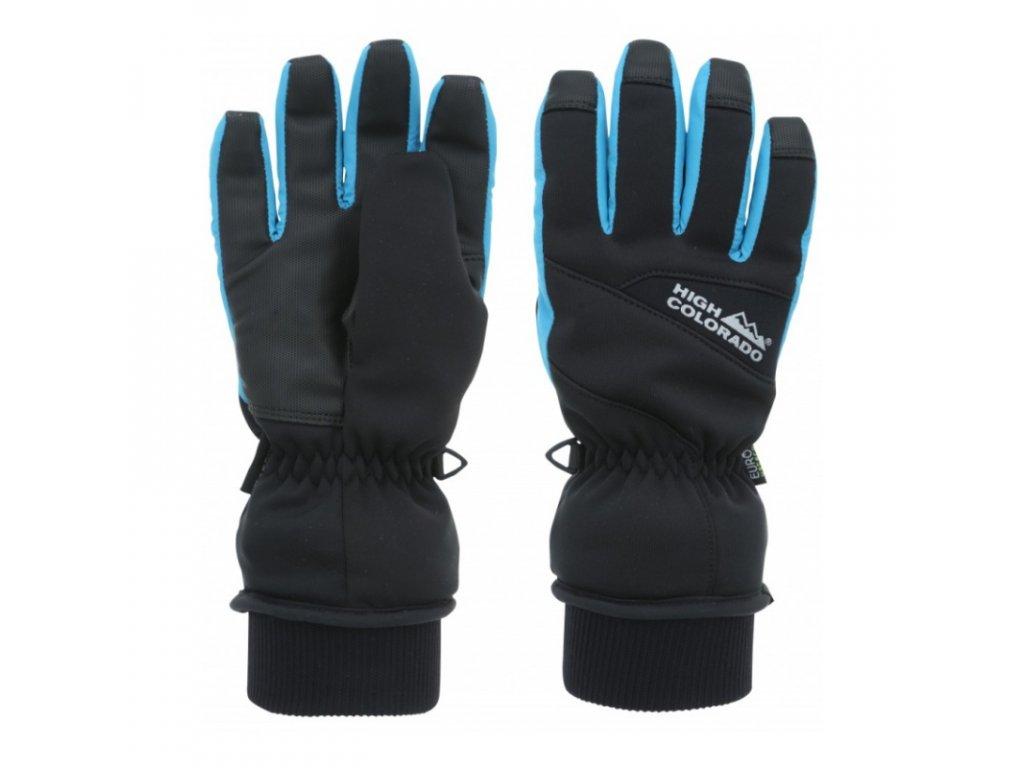 detske rukavice high colorado junior k black blue