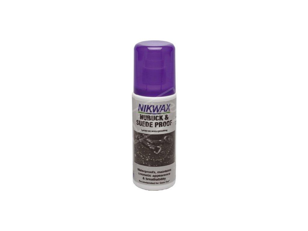 4c86df6d impregnace nikwax nubuck spray on 125 ml