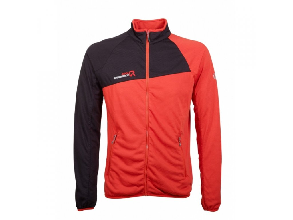 mikina rock experience larkin full zip orange com caviar