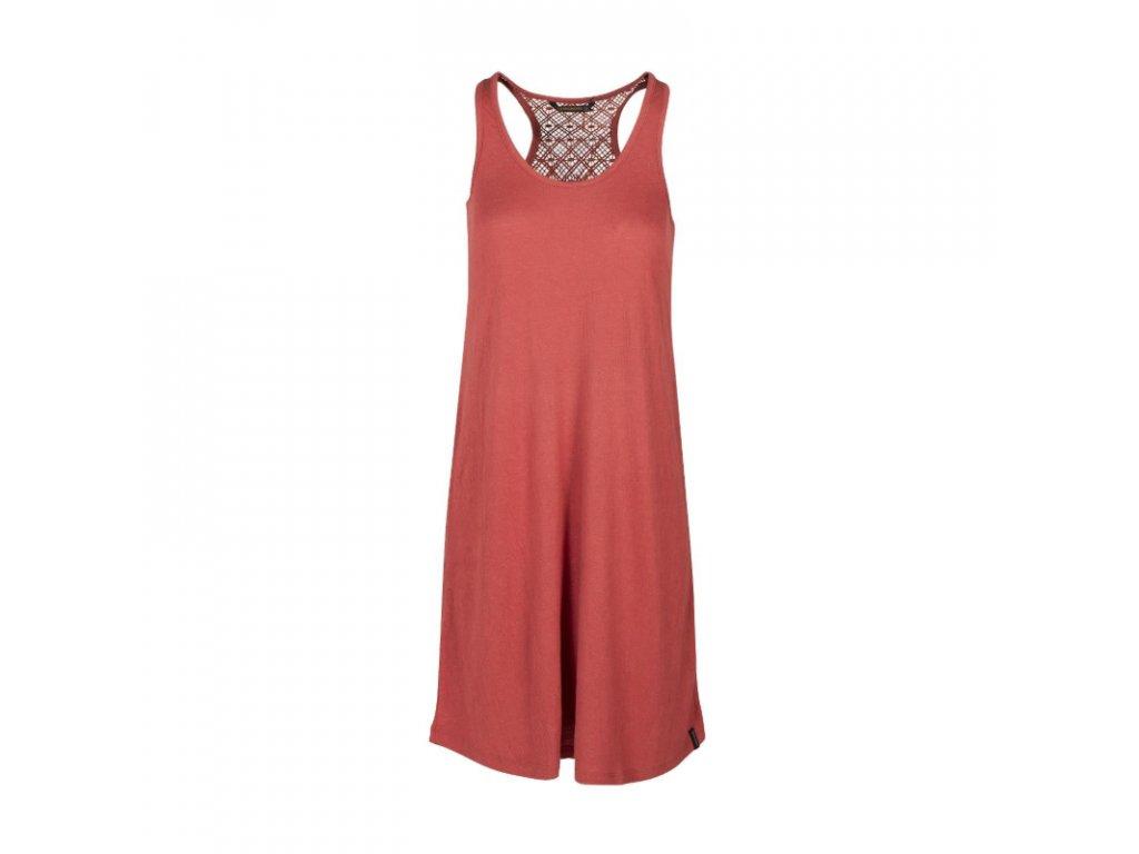damske saty brunotti adi women dress 0256 auburn red