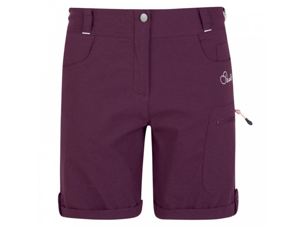 dare 2 be ladies melodic shorts lunar purple p46969 28567 image
