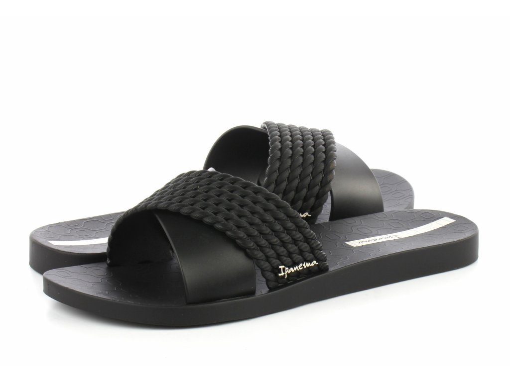 IPANEMA street fem 26400 black/black, dámské pantofle