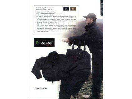 Nepromokavé kalhoty Elite Sport rybář