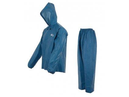 Nepromokavý komplet Element s kapucí modrý