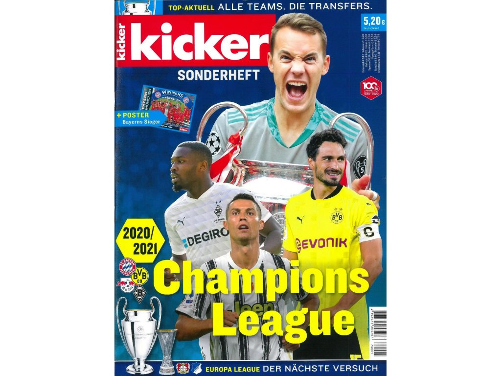 Kicker Sonderheft Champions League