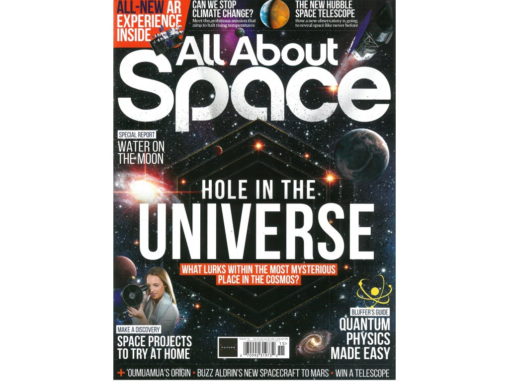 magazin All about space czpress