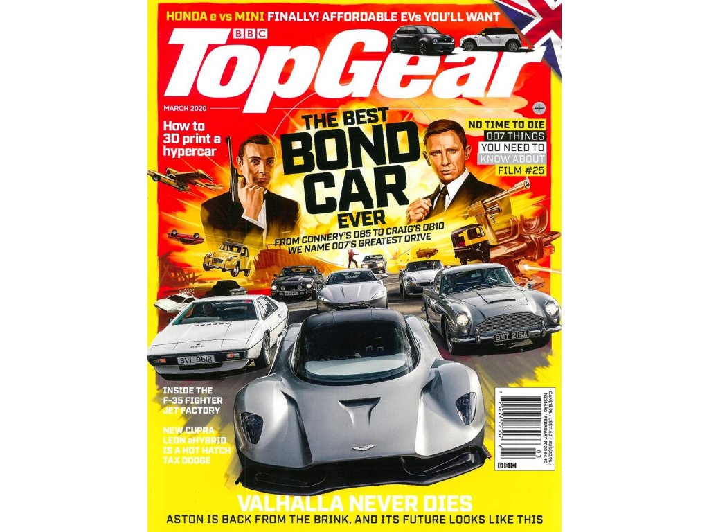 magazin bbc top gear UK