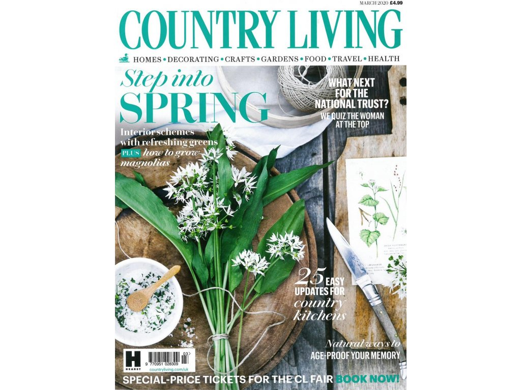 magazin country living UK
