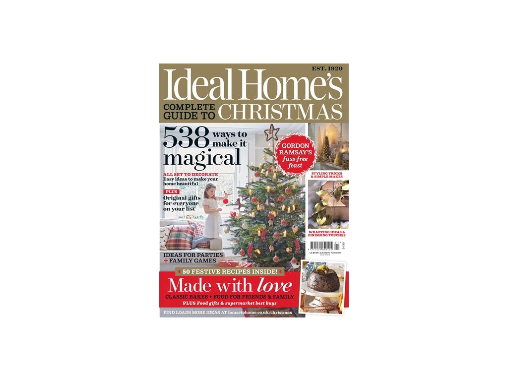 magazin Ideal Home Xmas Special US