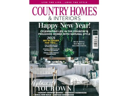 magazin country homes interiors US