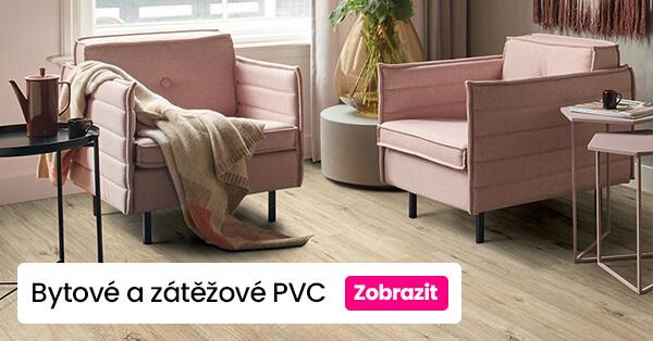 Bytové a zátěžové PVC