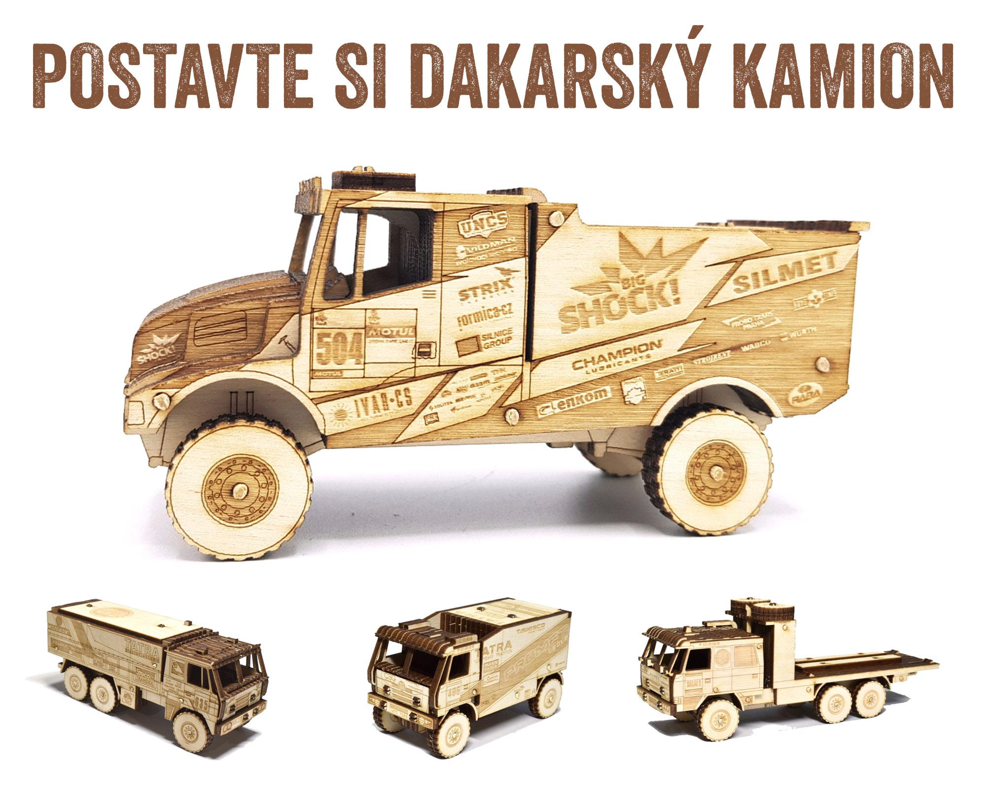 Dřevěné modely Vrky