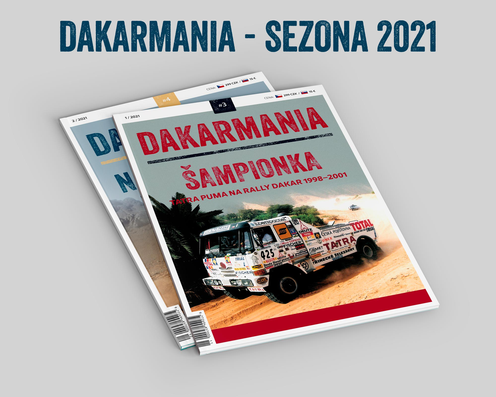 DAKARMANIA - roční předplatné - #3 a #4