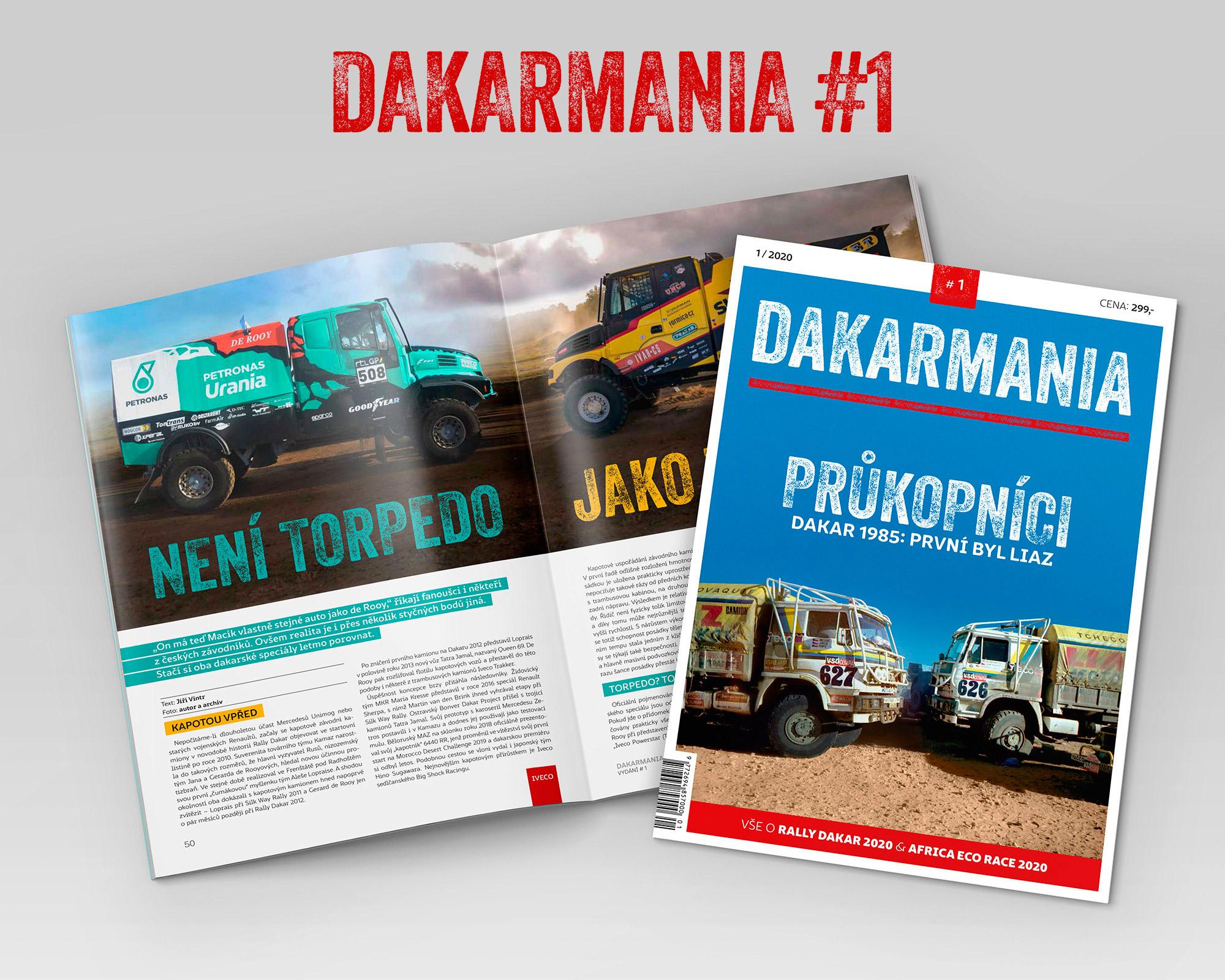 DAKARMANIA #1