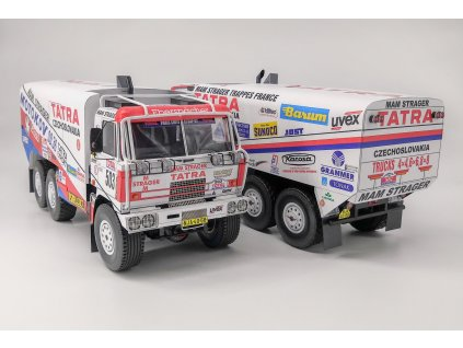 Tatra 815 6x6, Paříž – Kapské Město 1992 / Paříž – Peking 1992
