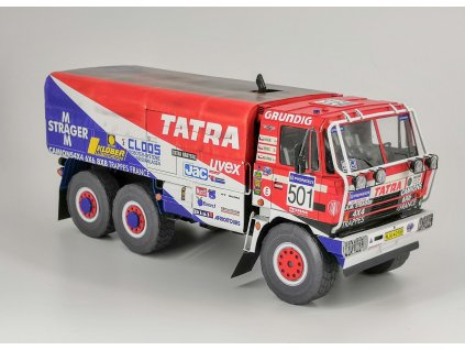 Tatra 815 6x6, Paříž – Dakar 1990