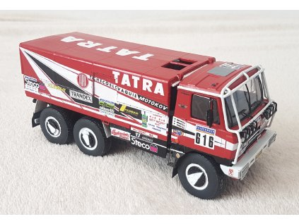 "Tatra 815 6x6 ""Babča"", Rally Paříž – Dakar 1987"