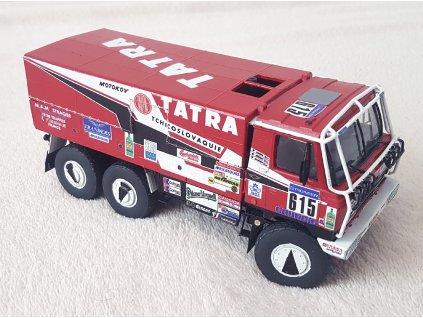 "Tatra 815 6x6 ""Babča"", Rally Paříž – Dakar 1988"