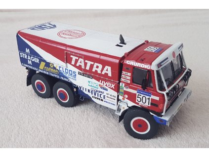 "Tatra 815 6x6 ""Babča"", Rally Paříž – Dakar 1990"