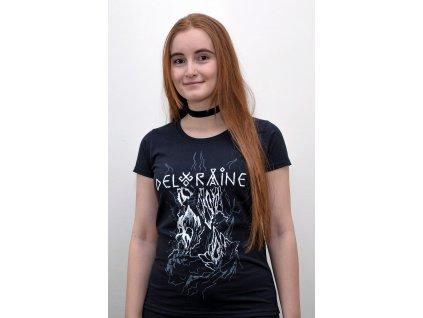 Tričko Les kostí dámské